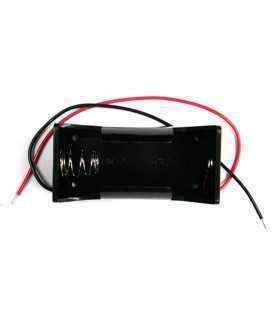 Suport baterie D R20 x1buc cu terminal cablu 150mm COMF BH-111A