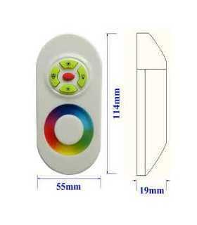 Controler LED control iluminare RGB Canale 3 12A alba OPTOFLASH CTR-RGB-4A-02