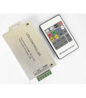 Controler LED control iluminare RGB 12A Canale 3 argintie OPTOFLASH CTR-RGB-4A-01