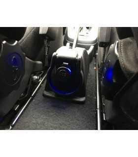 Adaptor mufa mama bricheta auto x1 neagra 20A de panou 12-24VDC SCI A13-142A