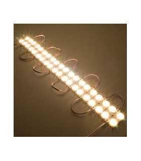 Modul 4x LED-uri 12V 1.44W 135lm SMD2835 IP68 3000K alb cald V-TAC