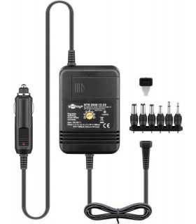 Alimentator incarcator auto 12VDC iesire 1.5-9V 2A sau 24VDC iesire 1.5-12V 2A Goobay