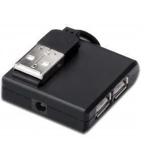 Hub USB 2.0 PnP Hot-Plug porturi 4x USB DIGITUS DA-70217