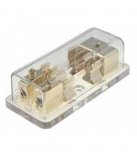 Splitter alimentare auto pentru sigurante audio aurit ACV 30.3701-02