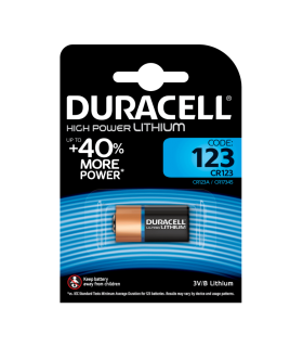 Baterie DURACELL CR123 3V LITIU 16.8x3.45mm