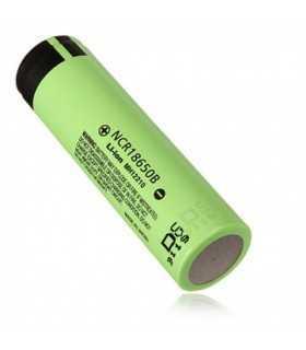 Acumulator Panasonic 18650 3.6V 3350mAh descarcare 6.7A cu lamele lipire LI-ION 65x18.2mm