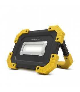 Reflector multifunctional COB LED reincarcabil USB acumulator incorporat 2x2200mAh 16W 1000lm IPX4 Phenom