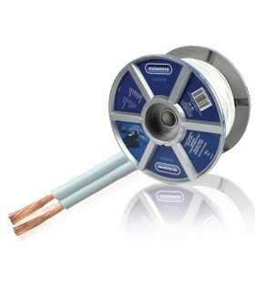 Cablu difuzor 2x0.75mm2 alb Bandridge