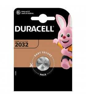 Baterie litiu 3V CR2032 20x3.2mm 235mAh DURACELL DL2032 1buc