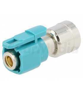 Adaptor antena Fakra tata - mama ISO 4CarMedia