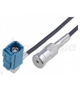 Cablu adaptor 0.25m antena Fakra mama - ISO mama VW MFD2 RNS2 4CarMedia