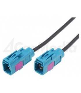 Cablu prelungitor 2m antena Fakra mama din ambele parti 4CarMedia