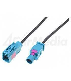 Cablu prelungitor 1m antena Fakra mama - tata Fakra 4CarMedia