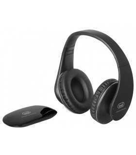 Casti audio over-ear wireless RF FRS 1380 R negru Trevi