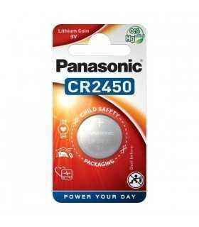 Baterie Panasonic CR2450 Lithium 3V 24.5x5mm
