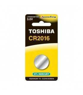 Baterie TOSHIBA CR2016 Lithium 3V