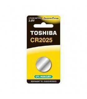 Baterie TOSHIBA CR2025 Lithium 3V