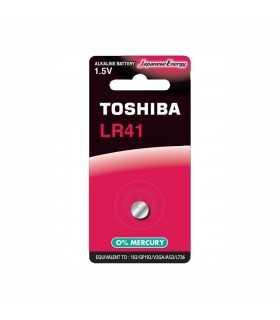 Baterie TOSHIBA LR41 1.5V alcalina Blister 1buc echivalent 192 GP192 V3GA AG3 L736