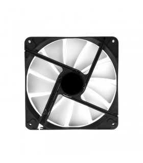 Ventilator 140x140x25mm PWM fan 4 pin anti-vibratii 800-1600 RPM 76.8CFM 16.8-32.6dBA ID-Cooling WF-14025