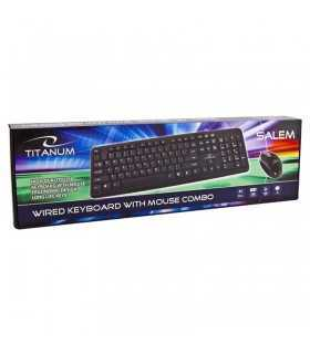 Kit tastatura +mouse USB SALEM ESPERANZA