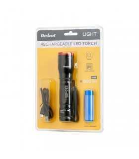 Lanterna 10W cu acumulator 2200mAh REBEL