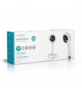 Camera Smart WiFi IP HD 720p cu senzor de temperatura Nedis