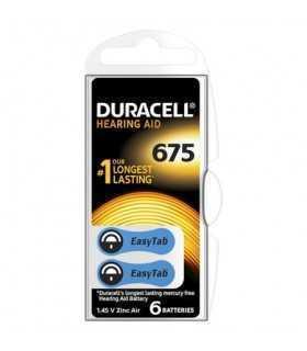 Baterii auditive 675 DURACELL Zinc-Air 1.45V ZA675 SET 6BUC