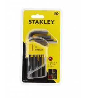 Set de 10 chei imbus L metric 1.5-10mm 0-69-253 Stanley