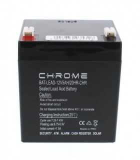 Acumulator plumb acid Chrome 12V 5AH 90x70x101mm