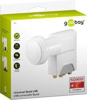 LNB universal 4 iesiri 0.1dB Goobay