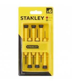 Set 6 surubelnite de precizie 0-66-052 Stanley