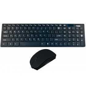 Tastatura + mouse Wireless negru ULTRA-THIN FASHION TED TD920 65877