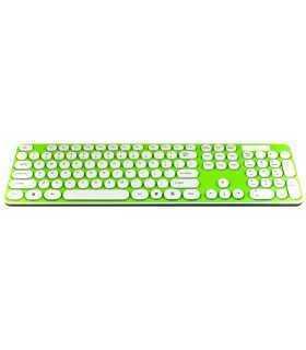 Tastatura verde+alb TED-4 +mouse wireless TD88S 20799