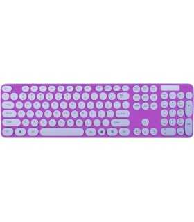 Tastatura roz+alb TED-4 +mouse wireless TD88S 20799