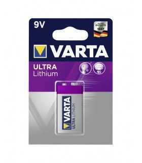 Baterie litiu 9V Varta ULTRA Lithium 6122 Blister 1buc