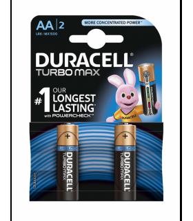 Baterii DuraCell AA TurboMax Ultra Alcaline LR6 blister 2buc