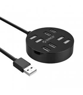 HUB USB Orico H8013-U2-15 USB 2.0 negru