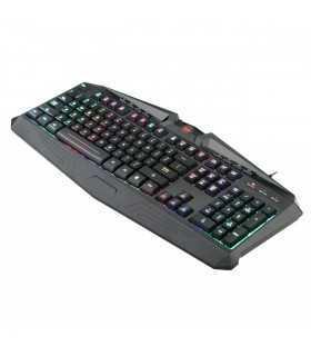 Tastatura Redragon Harpe RGB Black Keyboard
