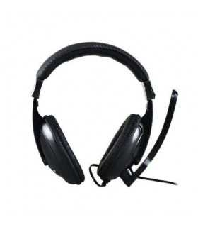 Casti Senicc ST-2628 STEREO cu microfon 2x JACK 3.5mm cablu 1.8m