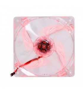 Ventilator Thermaltake Pure 12 LED 120mm 1000rpm 40.997CFM iluminare rosie 3pini