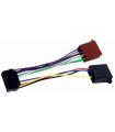 Cablu ISO pentru conectare player auto JVC 16p 12 conectori Well