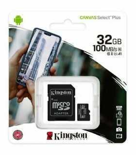 Card microSD 32GB Clasa 10 +adaptor SD Kingston
