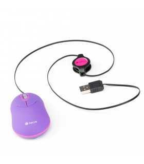 Mouse USB 1000dpi violet NGS SINPE