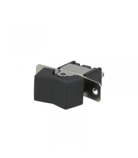 Intrerupator ROCKER SP3T Pozitii 3 (ON)-OFF-(ON) 3A 250VAC neagra fara 20mOhm NINIGI RSL-123A1
