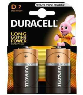 Baterii alcaline mono D R20 Duracell Simply