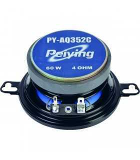 "Set difuzoare auto 3.5"" 8.8cm 60W 4 ohm Peiying"