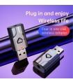 Bluetooth V5.0 receptor-emitator pentru dispozitive audio