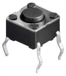 Microcontact 4 pini 4.5X4.5mm de la PCB 4.3m 2A