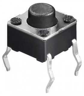 Microcontact 4 pini 4.5X4.5mm de la PCB 5mm 2A