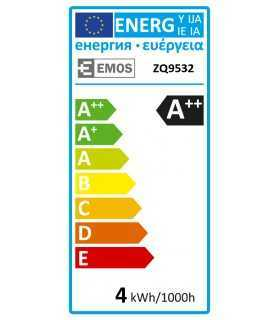 Bec LED G9 230V 3.5W 6500K alb rece 330lm EMOS